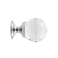Prestige 25mm Chrome Plated Glass Knob