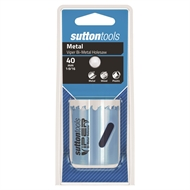 Sutton Tools 40mm Viper Bi-Metal HSS Holesaw