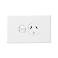 DETA X6 White Single Power Point