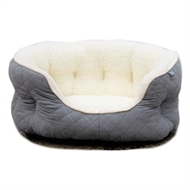 Happy Tails 60 x 40cm Shell Basket Pet Bed