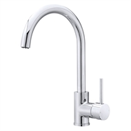 Mondella WELS 5 Star 6L/min Chrome Resonance Pin Side Lever Sink Mixer