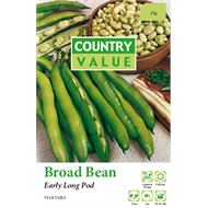 Country Value Early Long Pod Broad Bean Vegetable Seeds