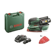 Bosch 18V Li-Ion Cordless Multi Sander Kit