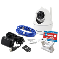Swann Wireless Pan And Tilt Security Camera With 16GB Card