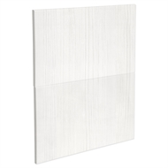 Kaboodle 600mm White Forest Modern 2 Drawer Panels