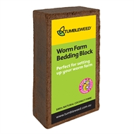 Tumbleweed Worm Farm Bedding Block