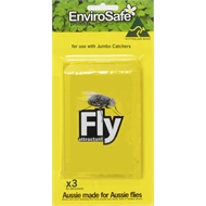 Envirosafe Fly Trap Bait Jumbo Attractant Refills - 3 Pack