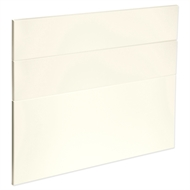 Kaboodle 900mm Antique White Modern 3 Drawer Panels