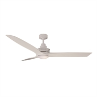 Mercator Flinders Ceiling Fan with LED Light - White