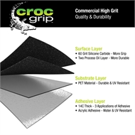 Croc Grip 5m x 48mm Reflective Anti-Slip Tape