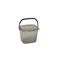 Ezy Storage 12L Encore Mutipurpose Tub With Lid - Grey