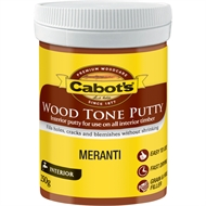 Cabot's 250g Meranti Wood Tone Putty