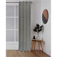 Windoware 1400 x 2230mm Sheer Misty Eyelet Curtain - Taupe