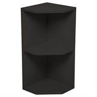 Kaboodle Charcola Open End Wall Cabinet