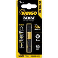 Kango 50mm Impact 8mm MXM Ball End Hex Bit