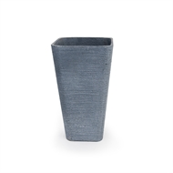 Tuscan Path 41 x 75cm Dark Grey Stream Lite Tall Square Planter