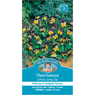 Mr Fothergill's Heartease Johnny Jump Up Flower Seeds