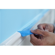 Scotchblue 24mm Super Sharp Paint Lines Painter's Masking Tape With Edge-Lock