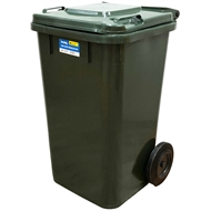 Handy 100L Green Wheelie Bin