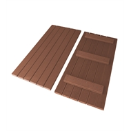 Good Times 5.580 x 4.464m Ekodeck+ Red Rock 20 x Module Decking Kit