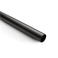 Sandleford 25 x 1200mm Black Powdercoated Rod
