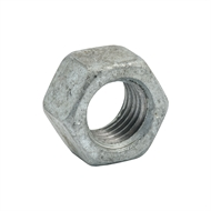 Zenith M16 Galvanised Metric Hex Nut - 20 Pack