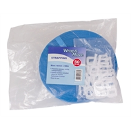 Wrap & Move 15mm x 50m Blue Packaging Strapping