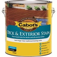 Cabot's 4L October Brown Water Based Deck & Exterior Timber Stain