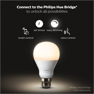 Philips Hue White Smart LED Dimmable Bulb B22