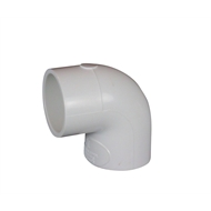 Holman 40mm 90° White PVC Elbow