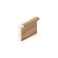 Porta 22 x 7mm 2.4m Tasmanian Oak Moulding Shelf Lipping