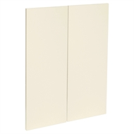 Kaboodle Ice Cream Modern Corner Wall Cabinet Door - 2 Pack
