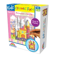 Kids Ceramic Fun Paint a Princess Castle Kit