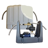 REEFE RM7000 Dune Birch Grey Rain To Mains System With Pressure Pump And Saddle Type Cover