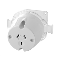 Deta 10amp Single Outlet Plug Base