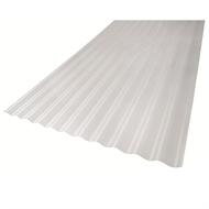Bastion 2.5m Clear Polycarbonate Roofing Sheet