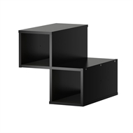 Flexi Storage Clever Cube  330 x 330 x 370mm Black System Divider