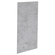 Kaboodle 900mm Light Truffle Modern Pantry Doors - 2 Pack