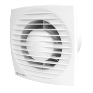 Blauberg 125mm White Low Profile Exhaust Fan