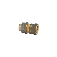 Kinetic 15FL x 15FI Brass Female Flared Compression Union
