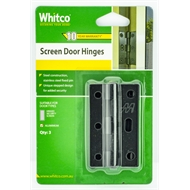 Whitco Black Screen Door Hinge