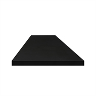 Litestone 3000 x 900 x 40mm Pure Black Benchtop