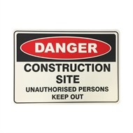 Brutus 450 x 300mm Construction Site Safety Sign