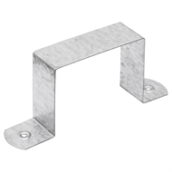 Fielders 100 x 75mm Zinc Square Downpipe Clip