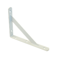 Carinya 200 x 150 x 25mm White Stayed Angle Bracket