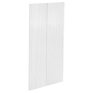 Kaboodle 900mm Provincial White Modern Pantry Doors - 2 Pack