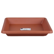 Northcote Pottery Terracotta Villa Square Plastic Saucer - 307mm