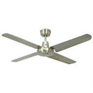 Mercator 130cm Antique Brass Swift Ceiling Fan