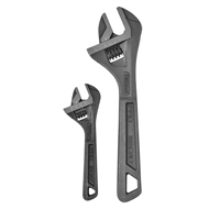 Trojan 2 Piece Adjustable Wrench Set