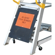Gorilla Order Picking Ladder Safety Barrier